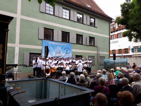 Sommerkonzert des Shanty-Chor im Spitalhof am 22.6.2019
