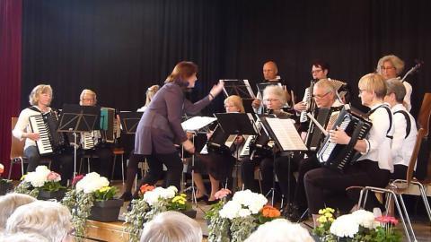 Akkordeonorchester - Konzertabend am 22.5.2019