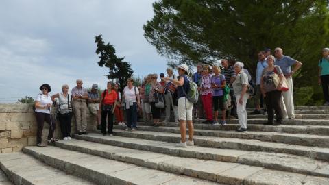 Die Wangener Reisegruppe des Bürgerforums auf Kreta 2019